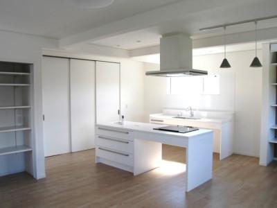 kawaken住宅だより―白を基調とた内装でホームエレベーターのある家が完成しました!―