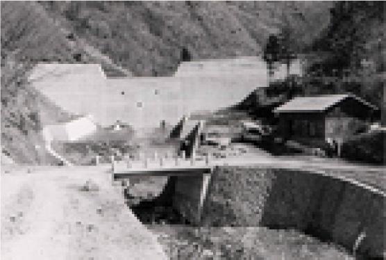 樺内砂防堰堤