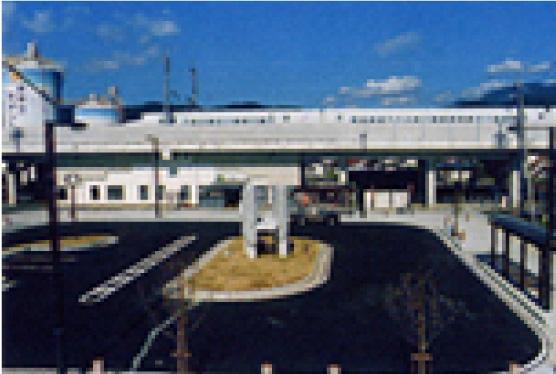 川中島駅前整備