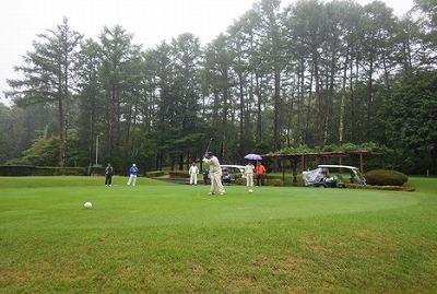 第一回川中島建設安全協力会ゴルフコンペを開催しました。
