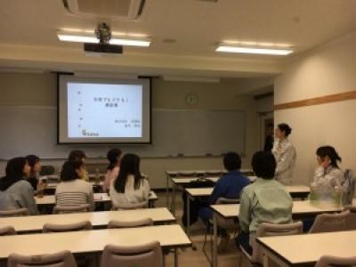 長野高専女子学生との懇談会に行ってきました。