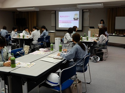 長野県建設業協会女性部会イベント「建設業で輝く女性のための現場視察会・乳がんセミナー」