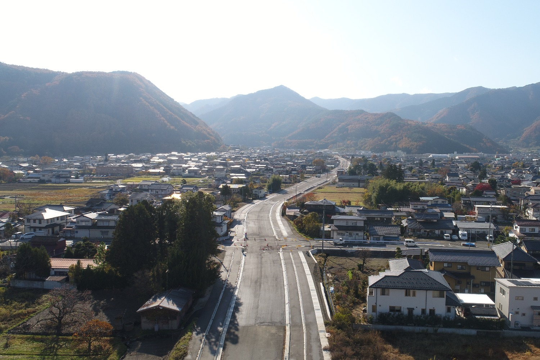 松代道路築造