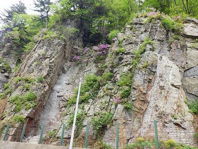 DKボンド工法レポート ―長野県上高井郡高山村鼻突岩―